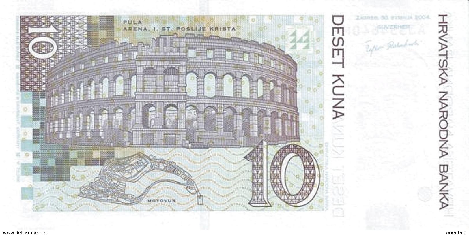 CROATIA P. 43 10 K 2004 UNC - Croatie