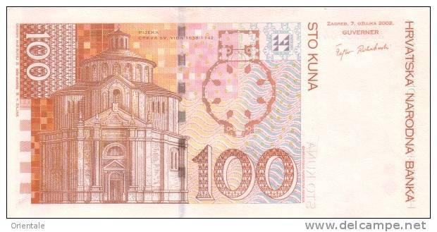 CROATIA P. 41a 100 K 2002 UNC - Croatie