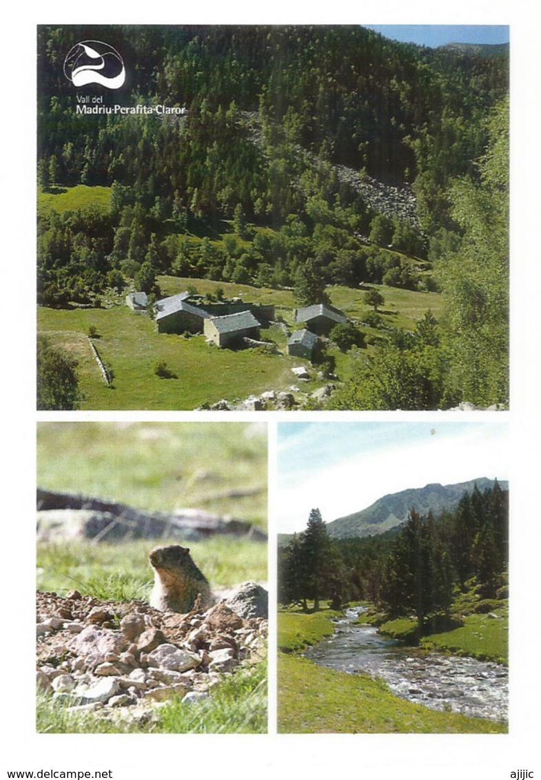 ANDORRA. Vall Del Madriu-Perafita-Claror. Patrimoine Mondial Unesco. (La Marmotte Des Pyrénées,Bordes De Ràmio,etc) - Andorra