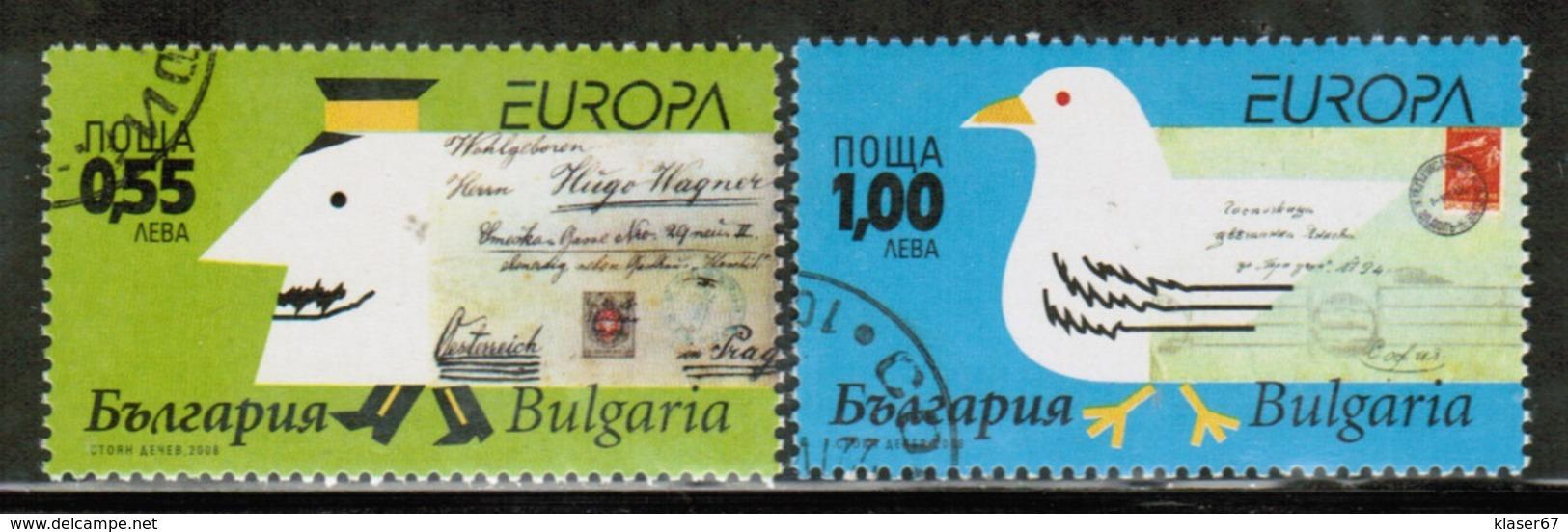 CEPT 2008 BG MI 4840-41 BULGARIA USED - 2008