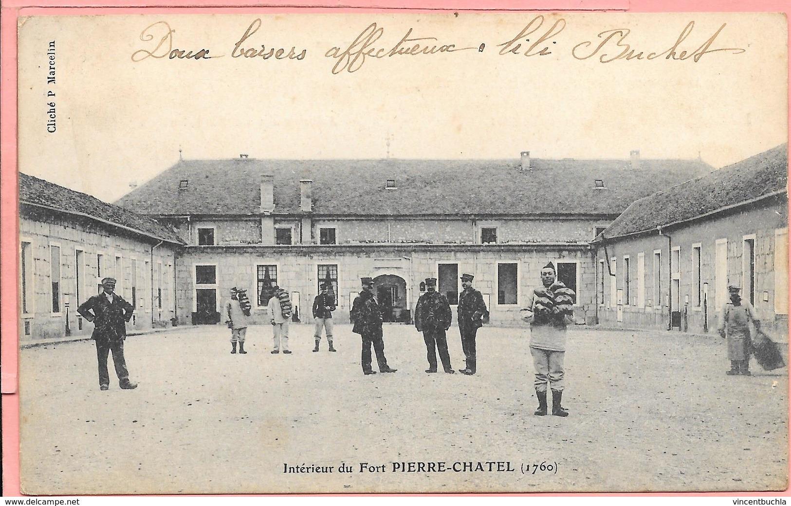 Intérieur Du Fort De Pierre-Chatel (1760) Commune De Virignin - France