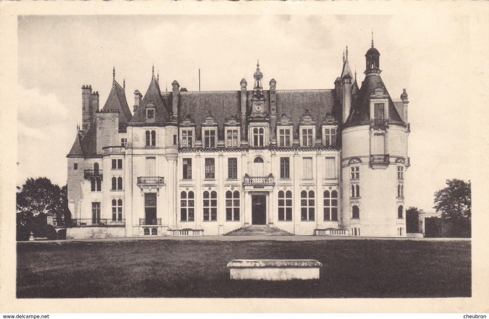 37 NOUZILLY. CPA .CHÂTEAU DE L'ORFRASIERE. ANNEE 1956 - Autres Communes