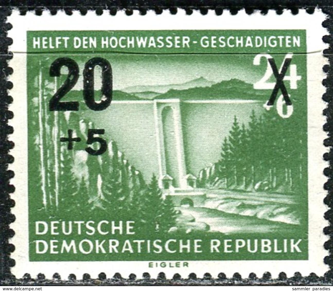 DDR - Mi 449 - ** Postfrisch (A) - 20+5 Auf 24+6Pf              Hochwasserhilfe 55 - [6] République Démocratique