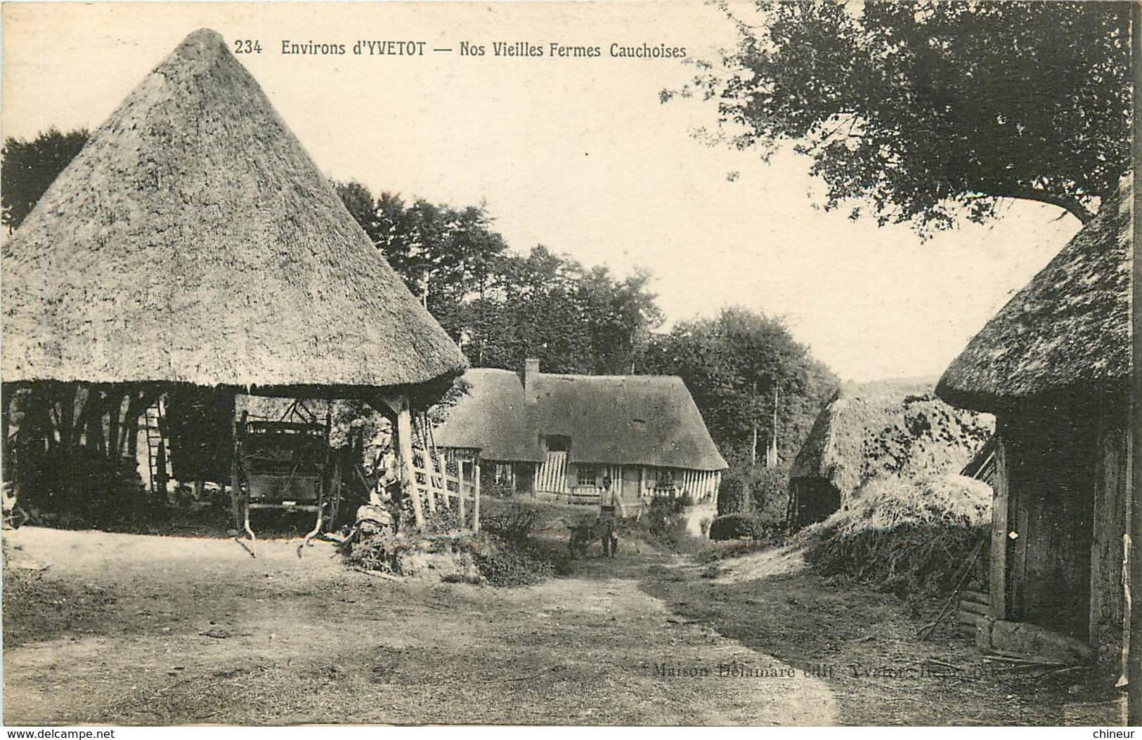 ENVIRONS D'YVETOT NOS VIEILLES FERMES CAUCHOISES - Caudebec-en-Caux