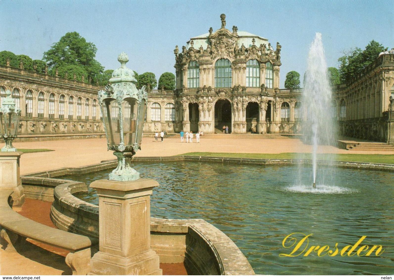 DRESDEN-NON VIAGGIATA - Dresden