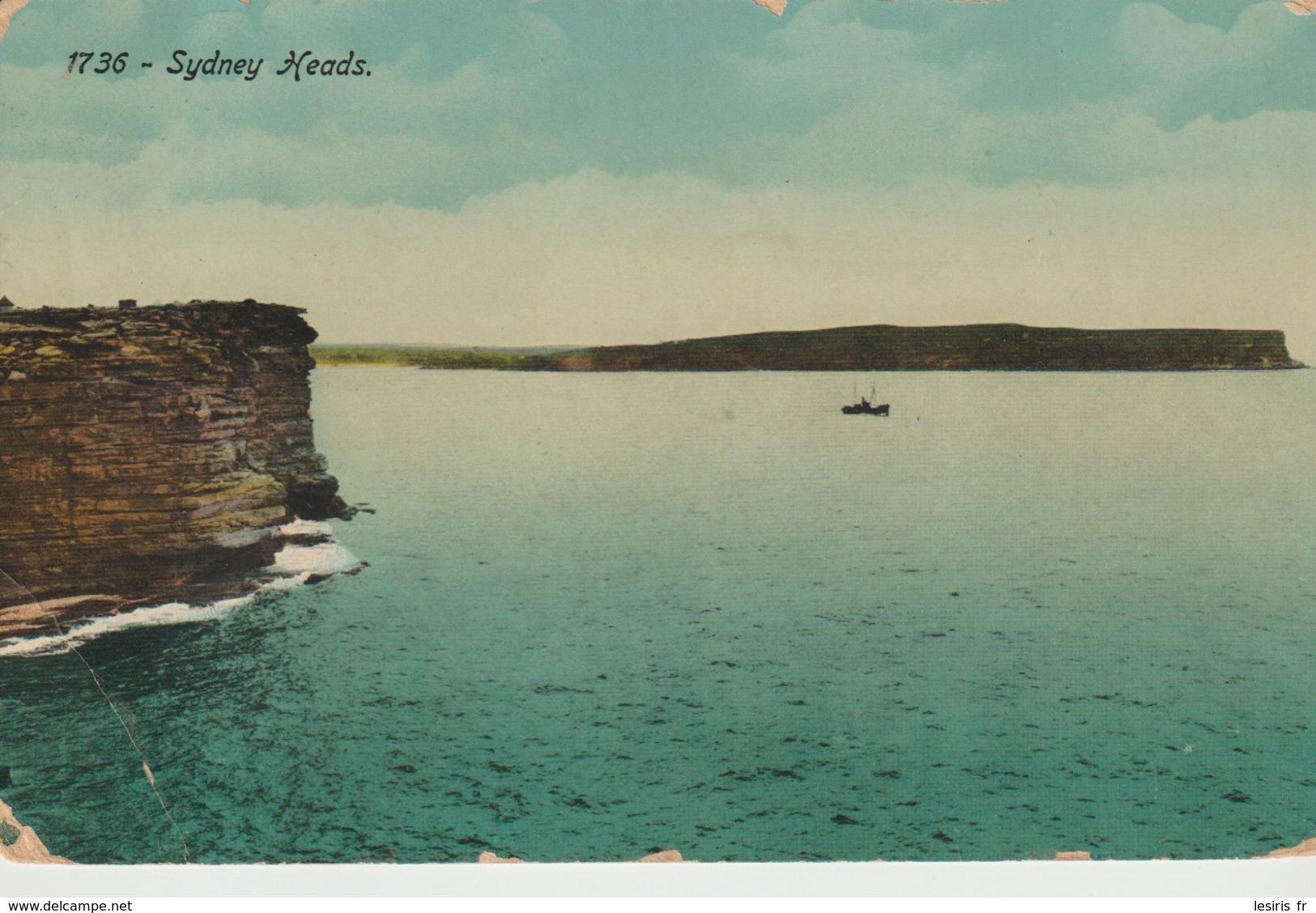 C.P.A. - SYDNEY - HEADS - 1736 - NATURE SERIES - S. W. - Sydney