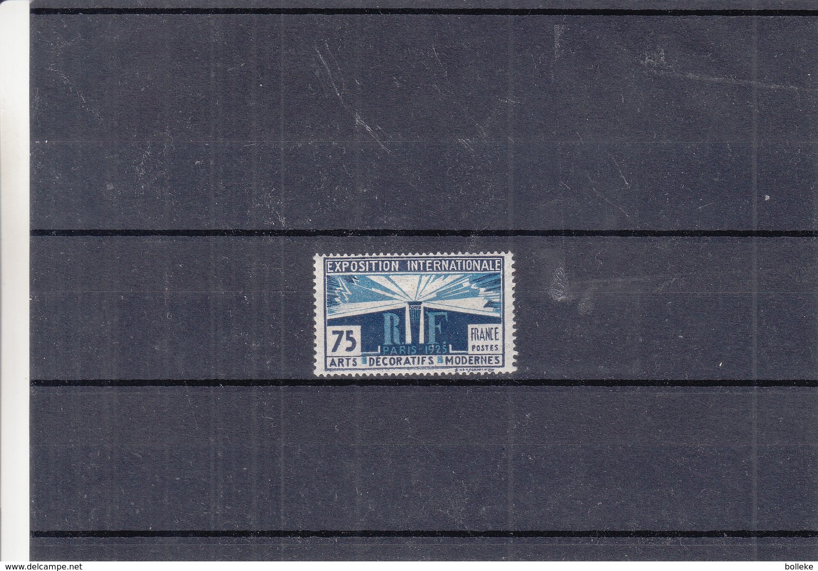 France - Yvert 215 * - Exposition Internationale Des Arts Décoratifs & Modernes - Valeur 20 Euros - France