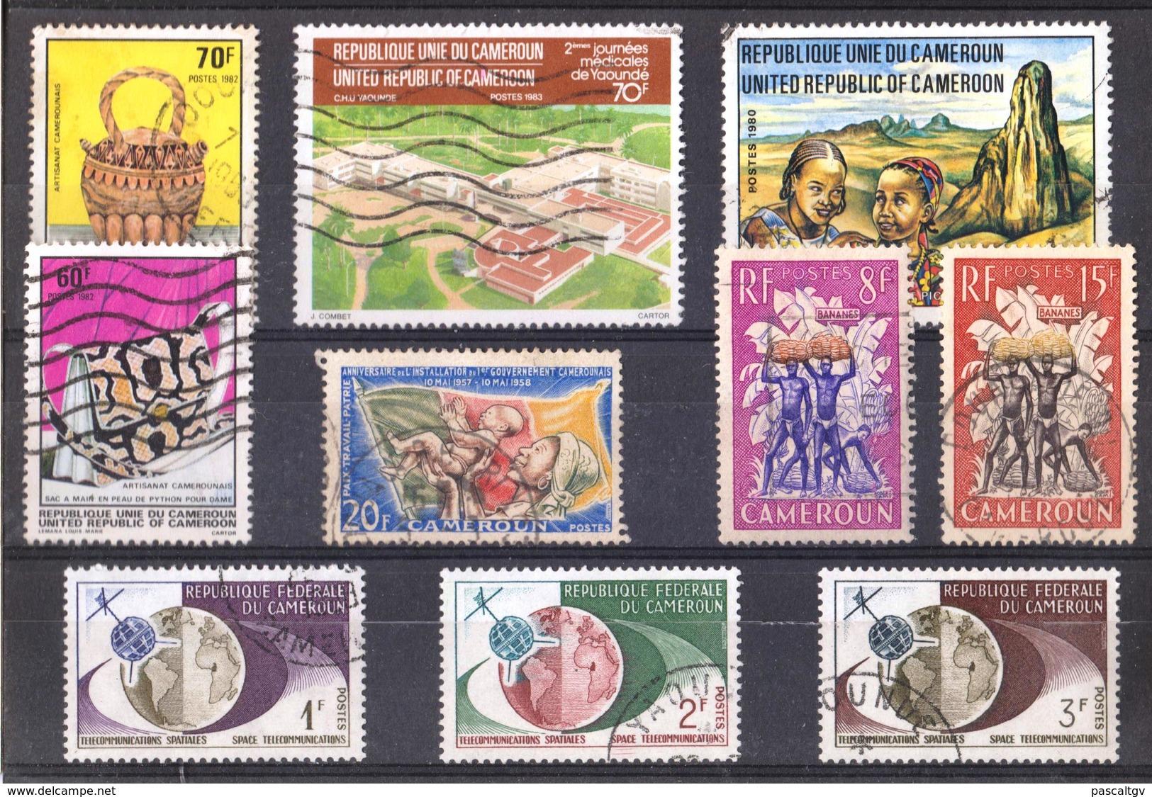 Cameroun Petit Lot - Timbres