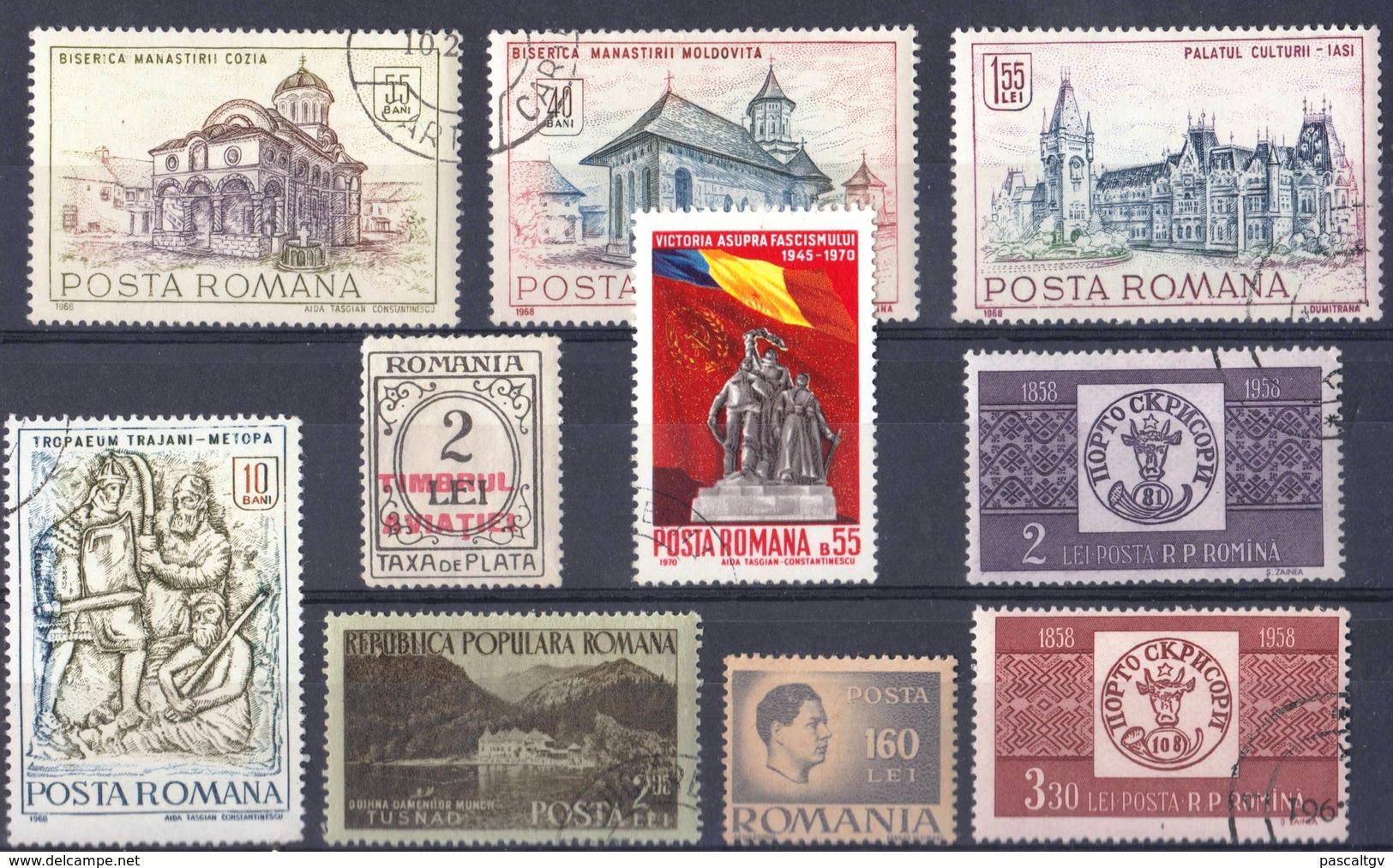 Roumanie Petit Lot - Timbres