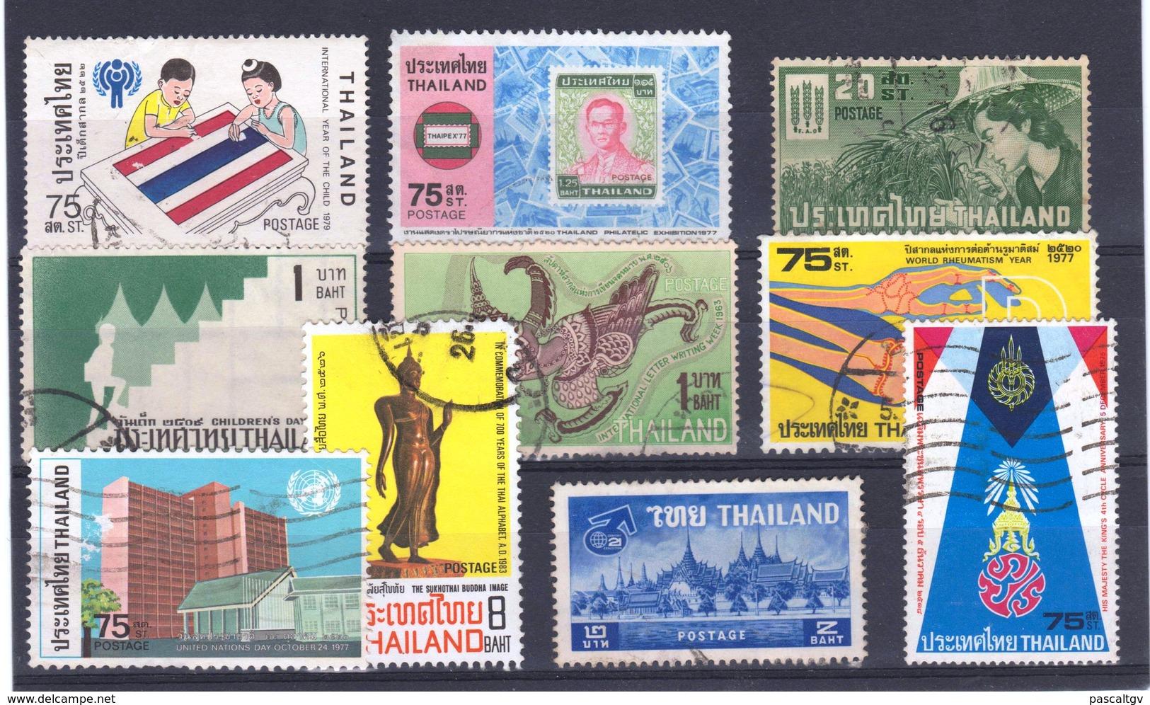 Thaïland Petit Lot - Timbres