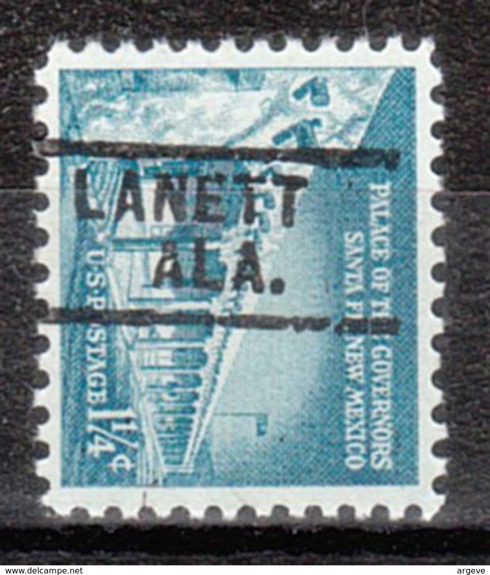 USA Precancel Vorausentwertung Preo, Locals Alabama, Lanett 729 - Etats-Unis