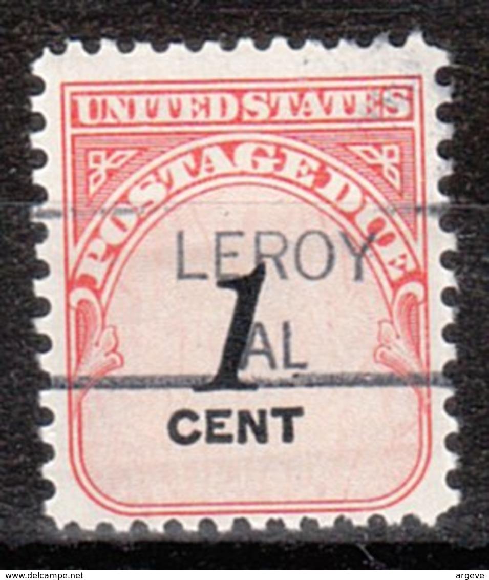 USA Precancel Vorausentwertung Preo, Locals Alabama, Leroy 835,5 - Etats-Unis