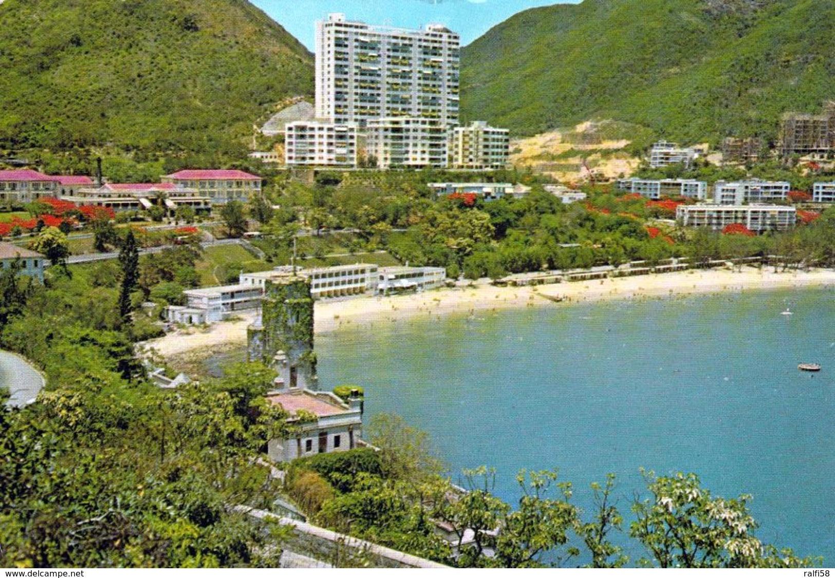 1 AK Hongkong * Repulse Bay - A Summer Resort - Die Bucht Liegt Im Süden Von Hong Kong Island * - China (Hongkong)
