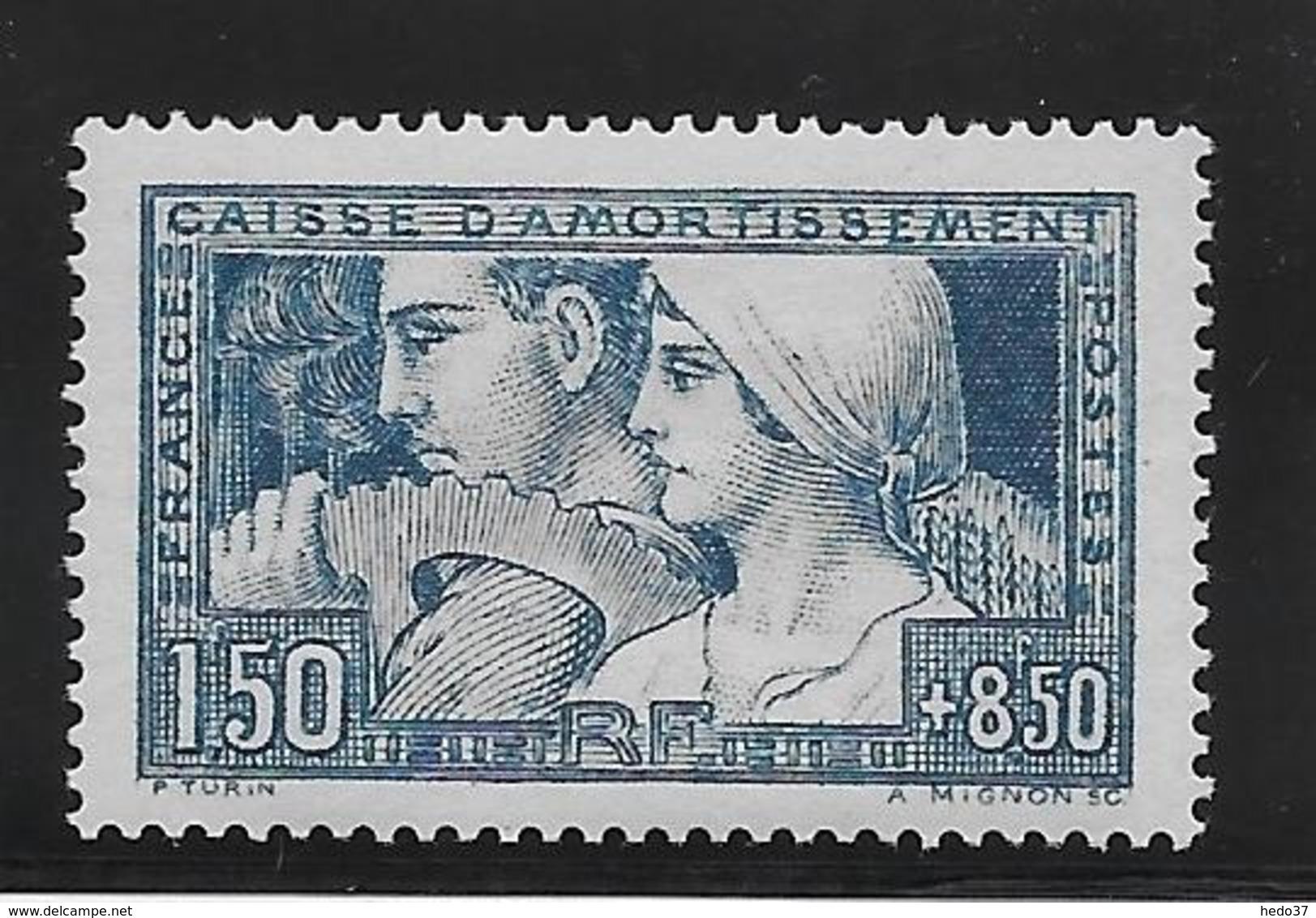 France N°252 - Neuf * Avec Charnière - TB - France