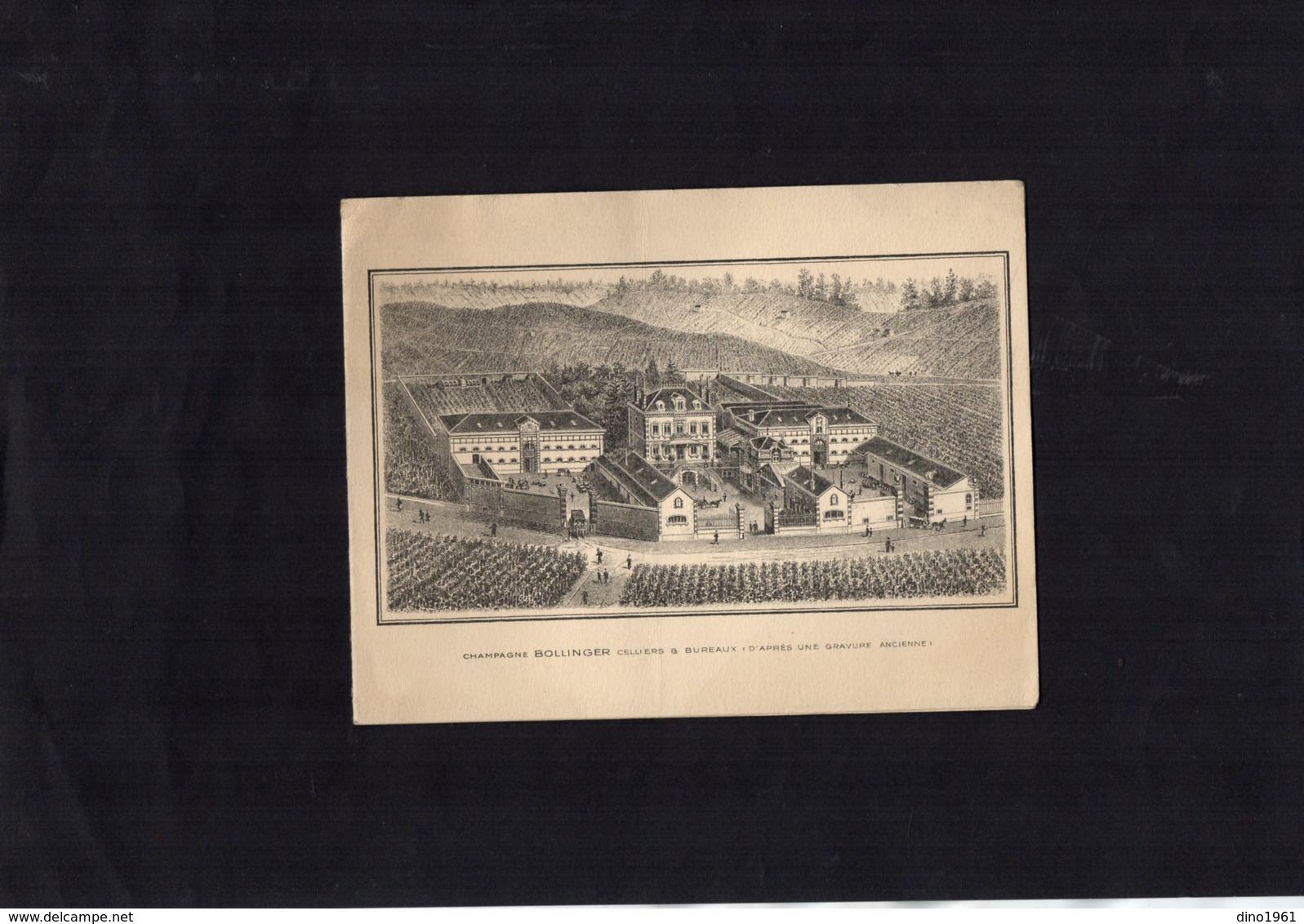 VP13.535 - AY - Marne - Noblesse - Autographe De Mme J. BOLLINGER Née Elisabeth LAW De LAURISTON - BOUBERS - Autographes