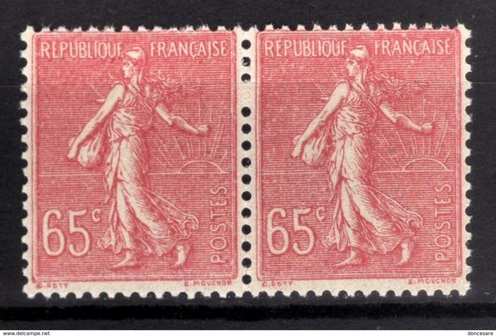 FRANCE 1924/1926 - PAIRE / Y.T. N° 201 - NEUFS** - France
