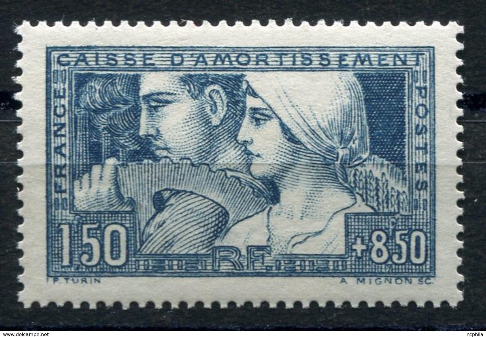 RC 10620 FRANCE N° 252 CAISSE D'AMORTISSEMENT LE TRAVAIL ETAT III COTE 180€ NEUF * TB - France