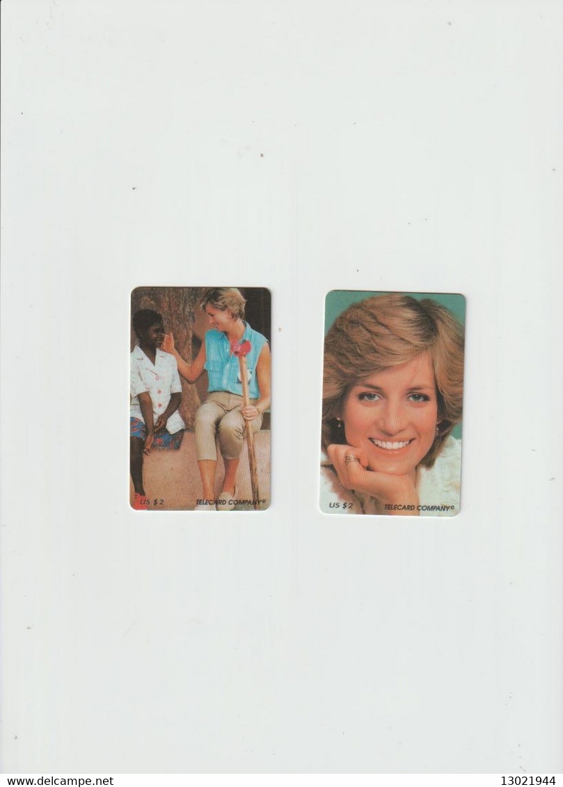 LADY DIANA  N.8 CARDS BT + N.2 USA - IS FOR ONE CARD PRICE - IF YOU PURCHASE ALL YOU MAKE A DISCOUNT - Collections