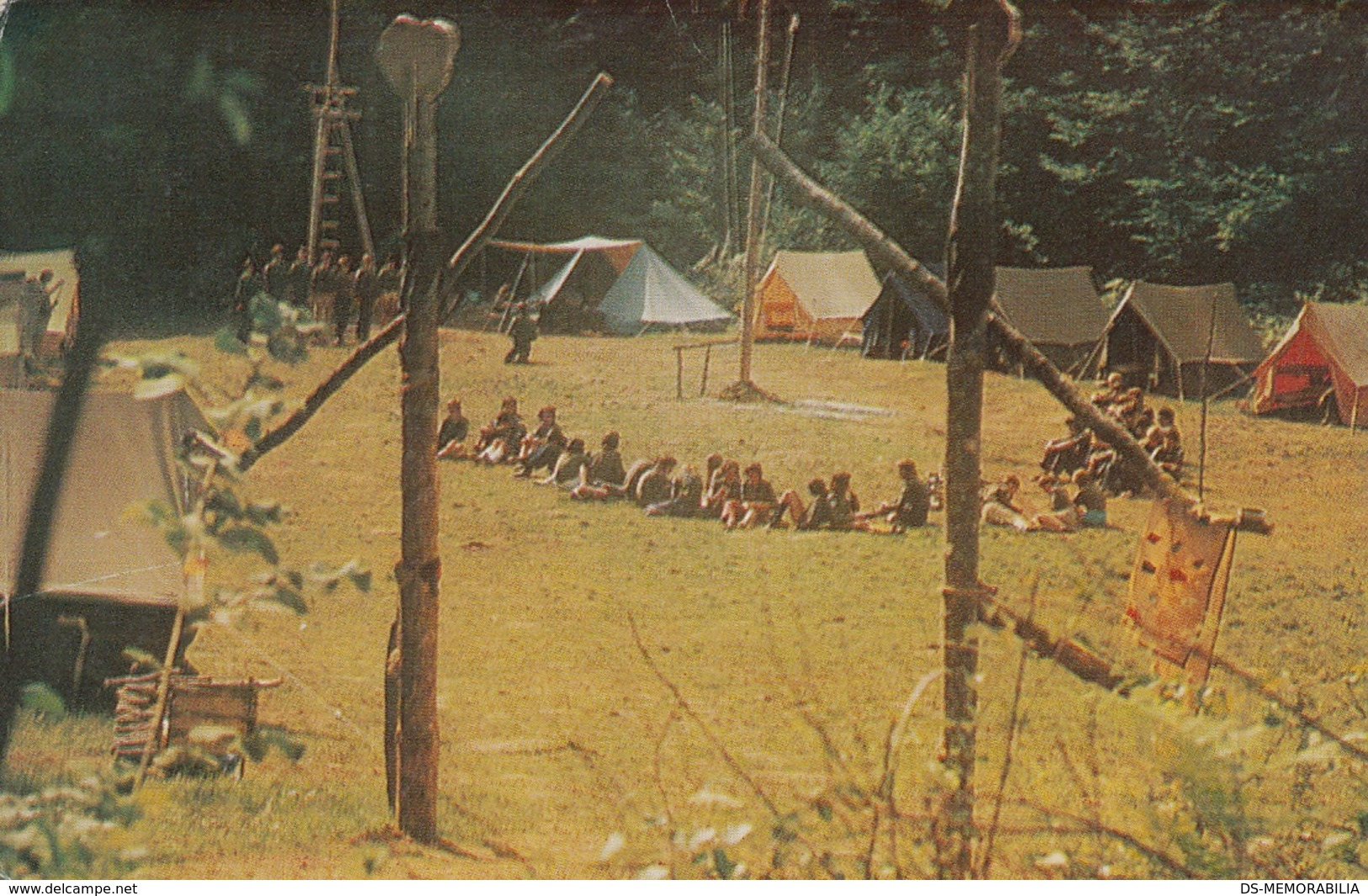 BOY SCOUT CAMP SCOUT ASSOCIATION RIJEKA CROATIA - Scoutisme