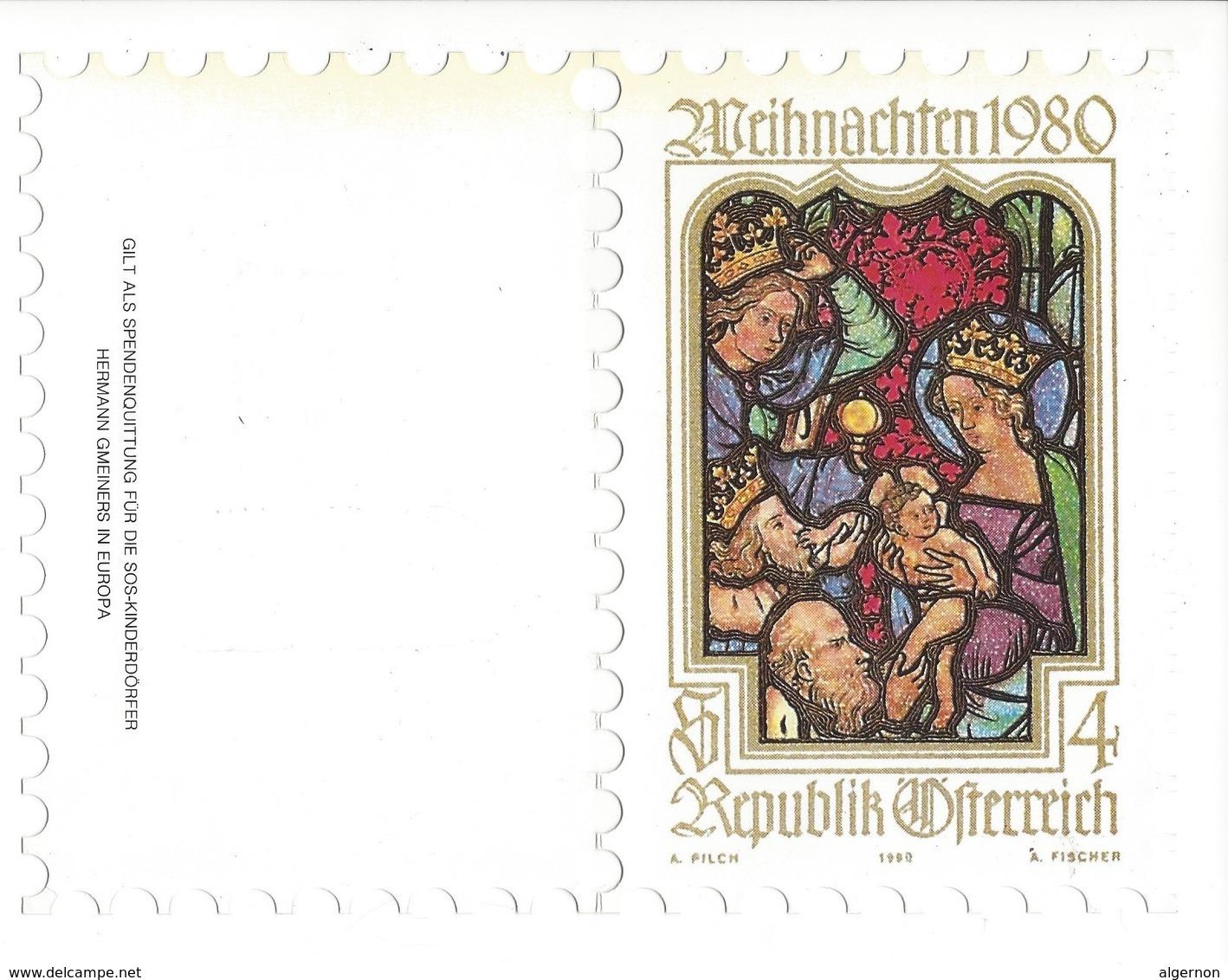 20979 -  Christkindl 24.12.1980 Republik Österreich A Pilch 1980 A Fischer - Noël
