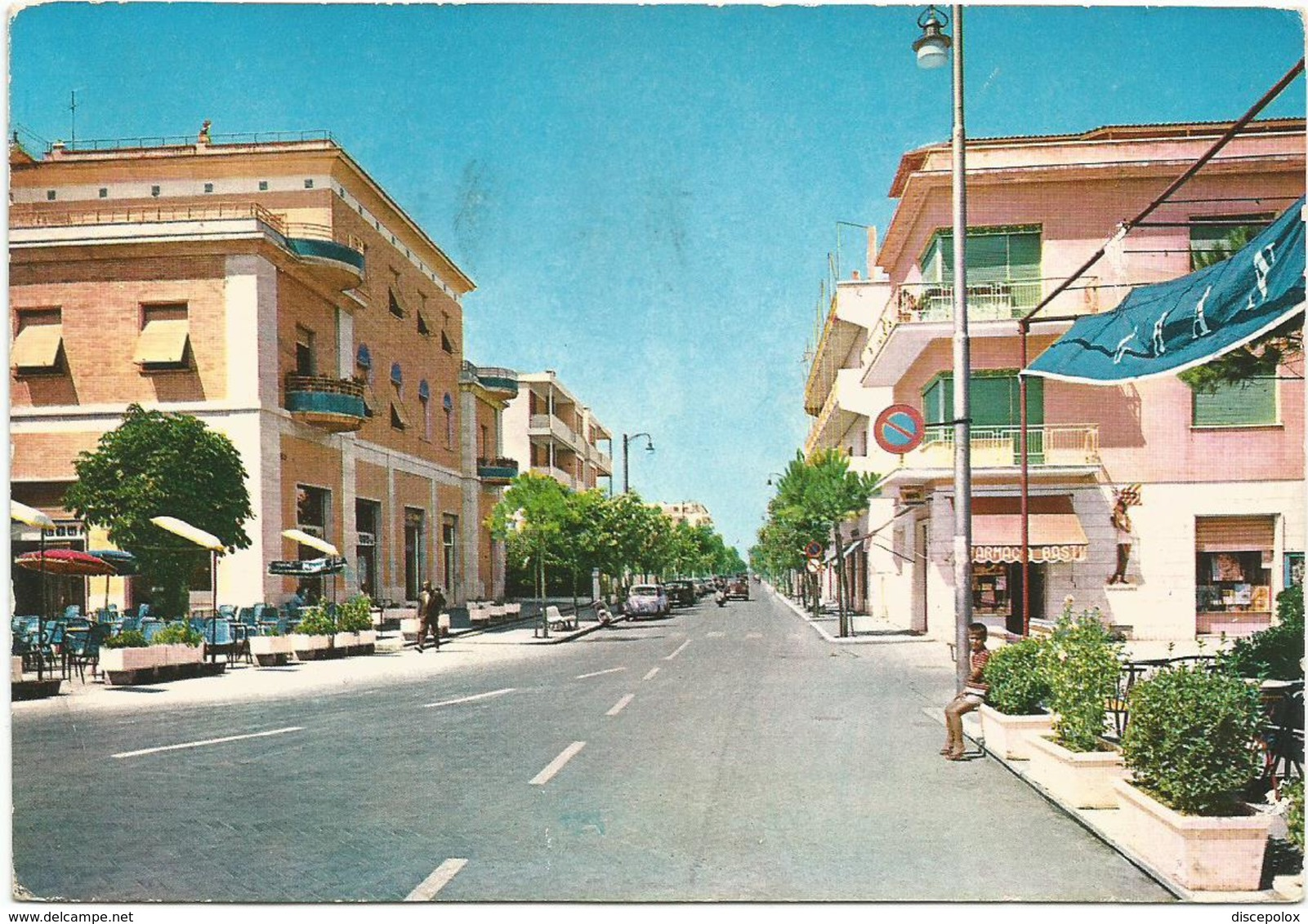 V3166 Francavilla Al Mare (Chieti) - Viale Nettuno / Viaggiata 1966 - Italia