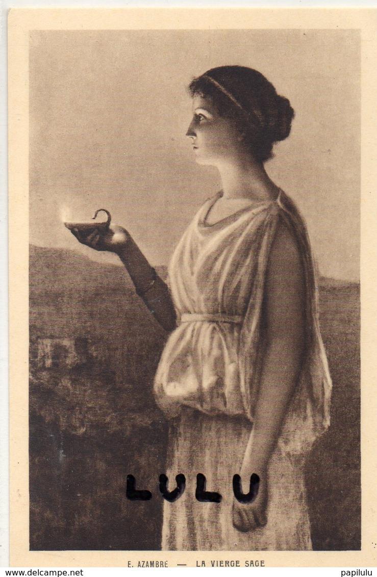 FEMMES 630 : La Vierge Sage Par E Azambre  ; édit. Braun - Femmes