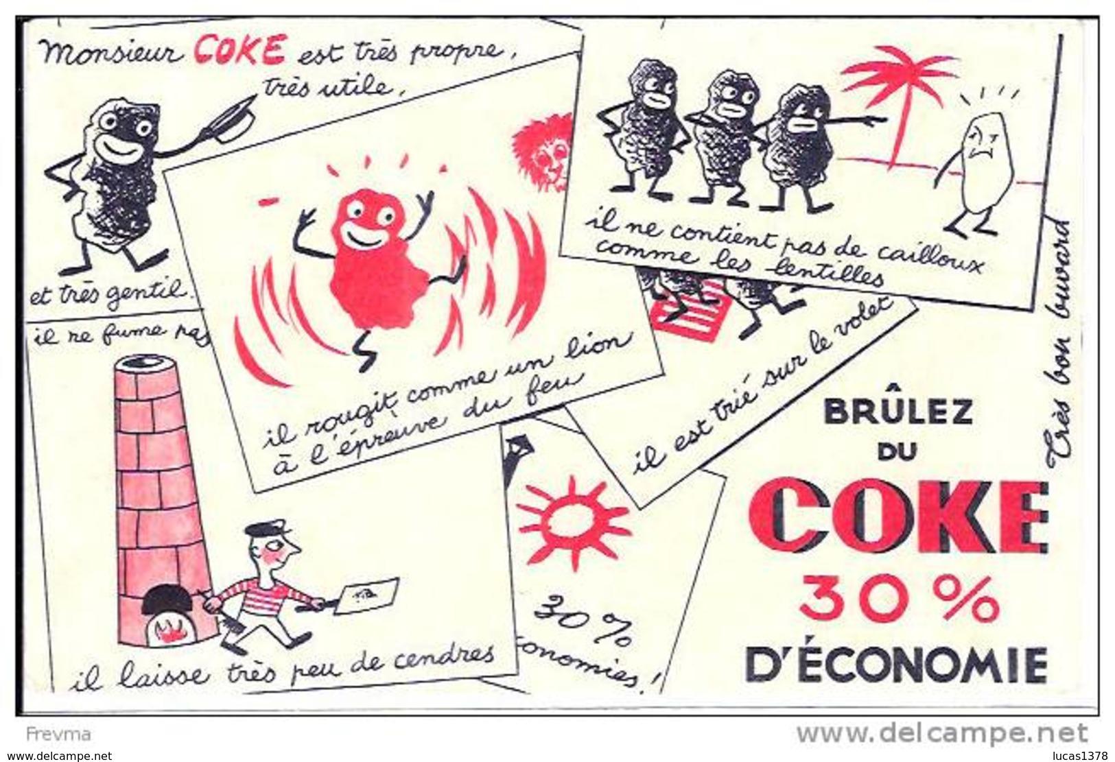 BUVARD BRULEZ DU COKE - Electricité & Gaz