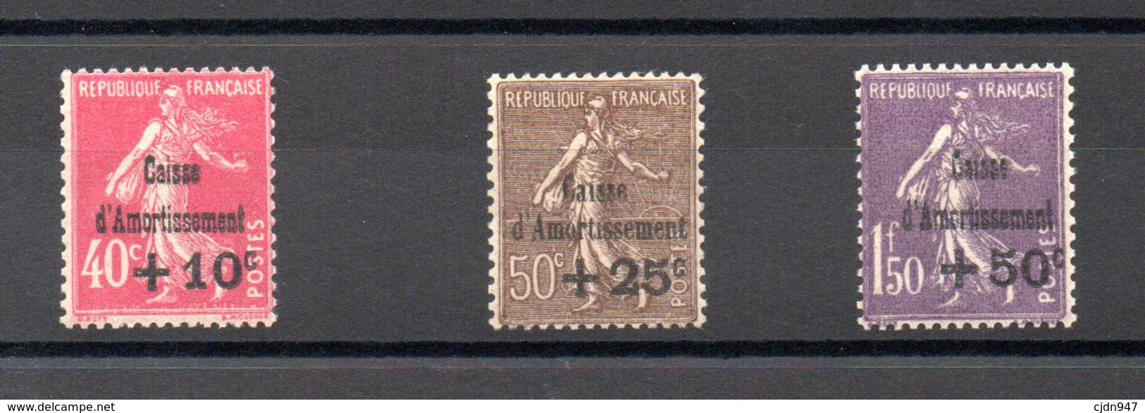 FRANCE  N°266/8 - France