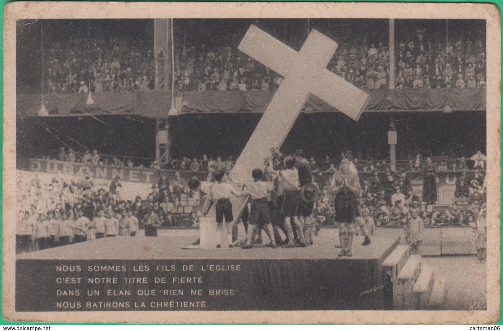 Scoutisme - Nous Sommes Les Fils De L'église ... - Editeur: Cours Vaillants Et Ames Vaillantes - Scoutisme