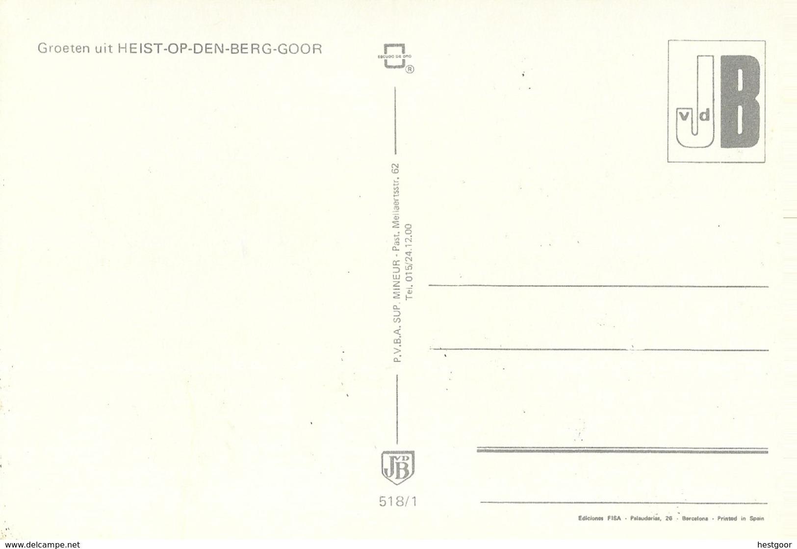 Groeten Uit HEIST-OP-DEN-BERG-GOOR - Heist-op-den-Berg