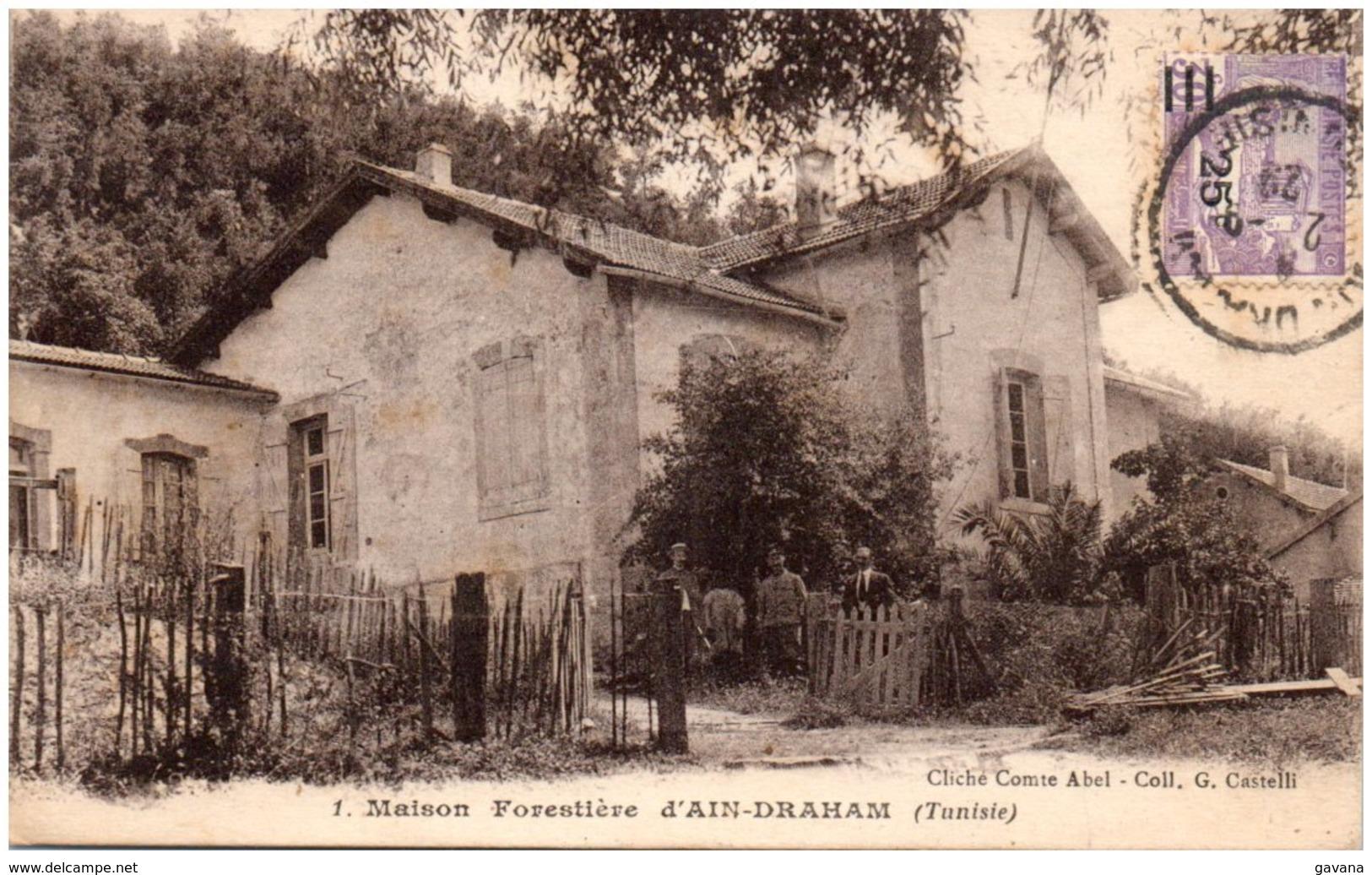 Maison Forestière D'AIN-DRAHAM - Tunisia