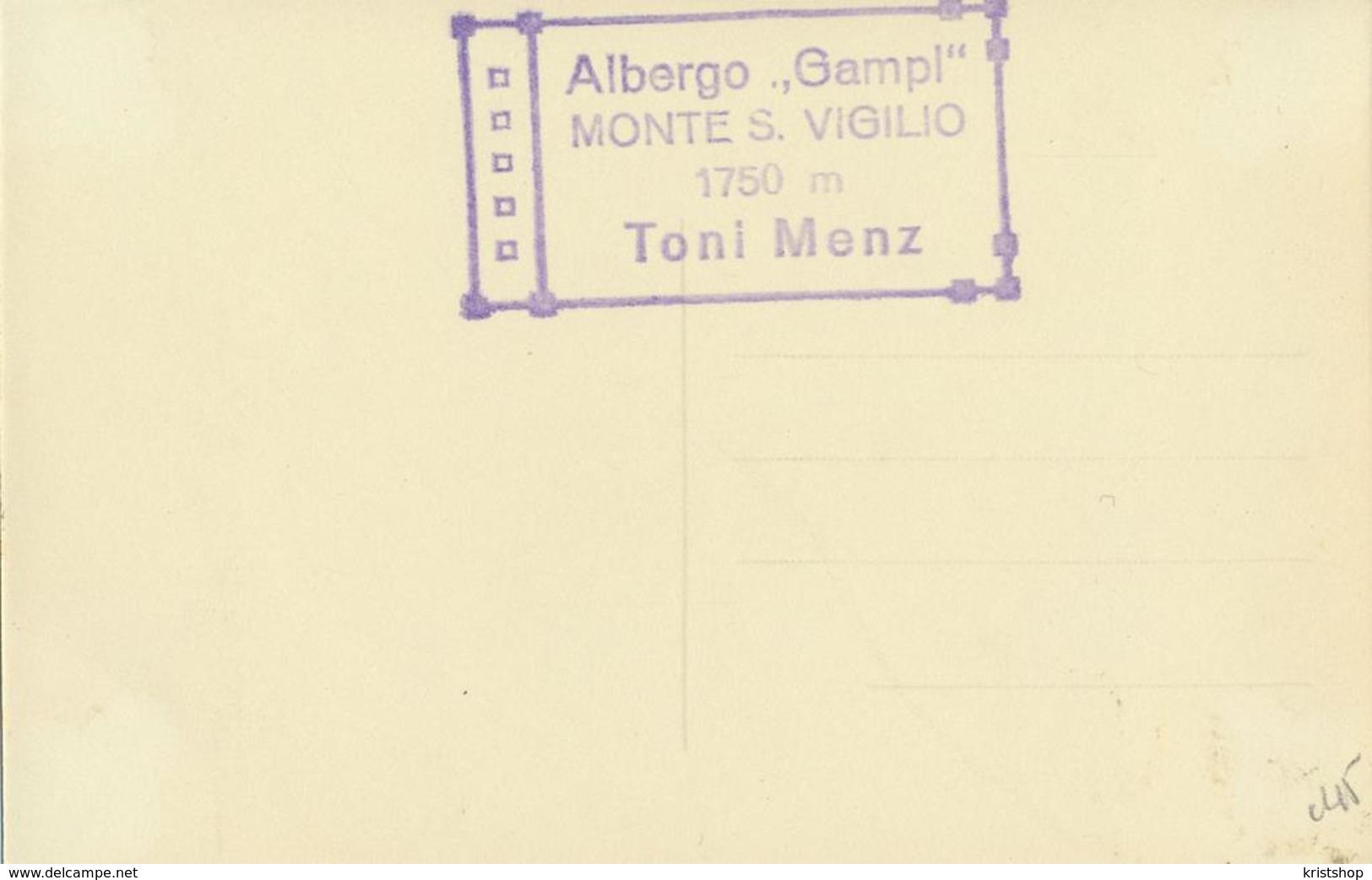 Albergo Gampi - Monte S. Vigilio - Albergo Gampi (Hotel) [AA20-2.045 - Non Classés
