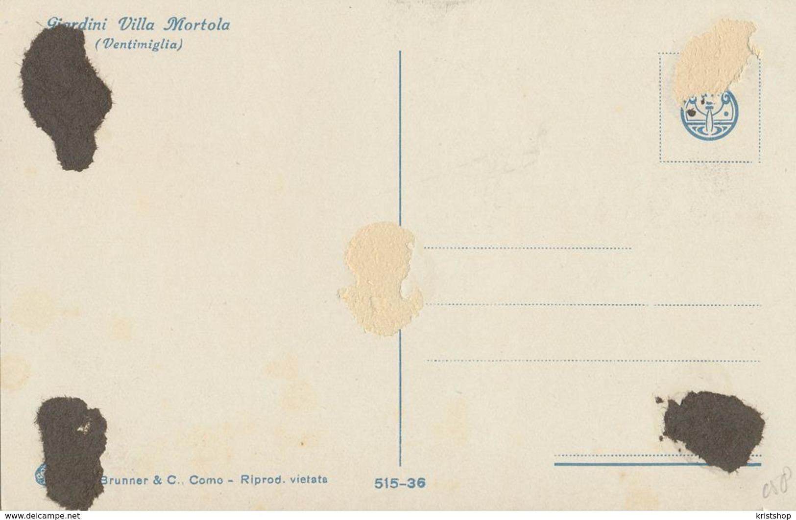 Gardini Villa Mortola [AA20-2.058 - Italie