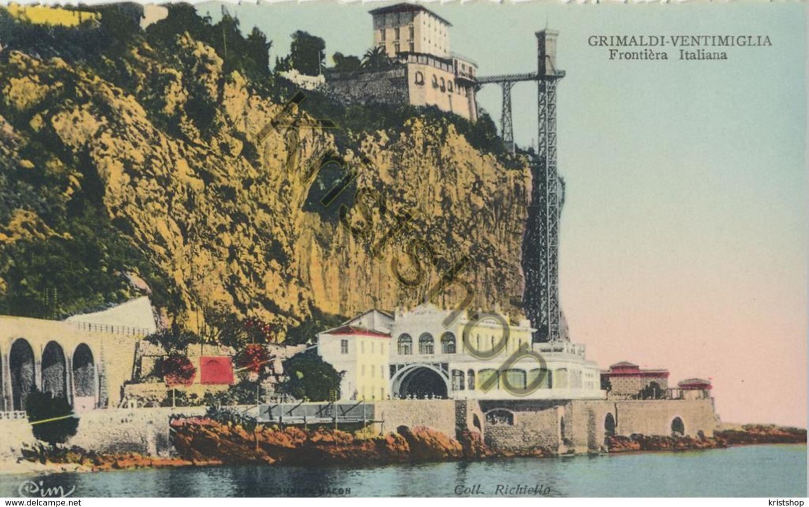 Grimaldi-Ventimiglia - Frontière Italiana [AA20-2.062 - Italie