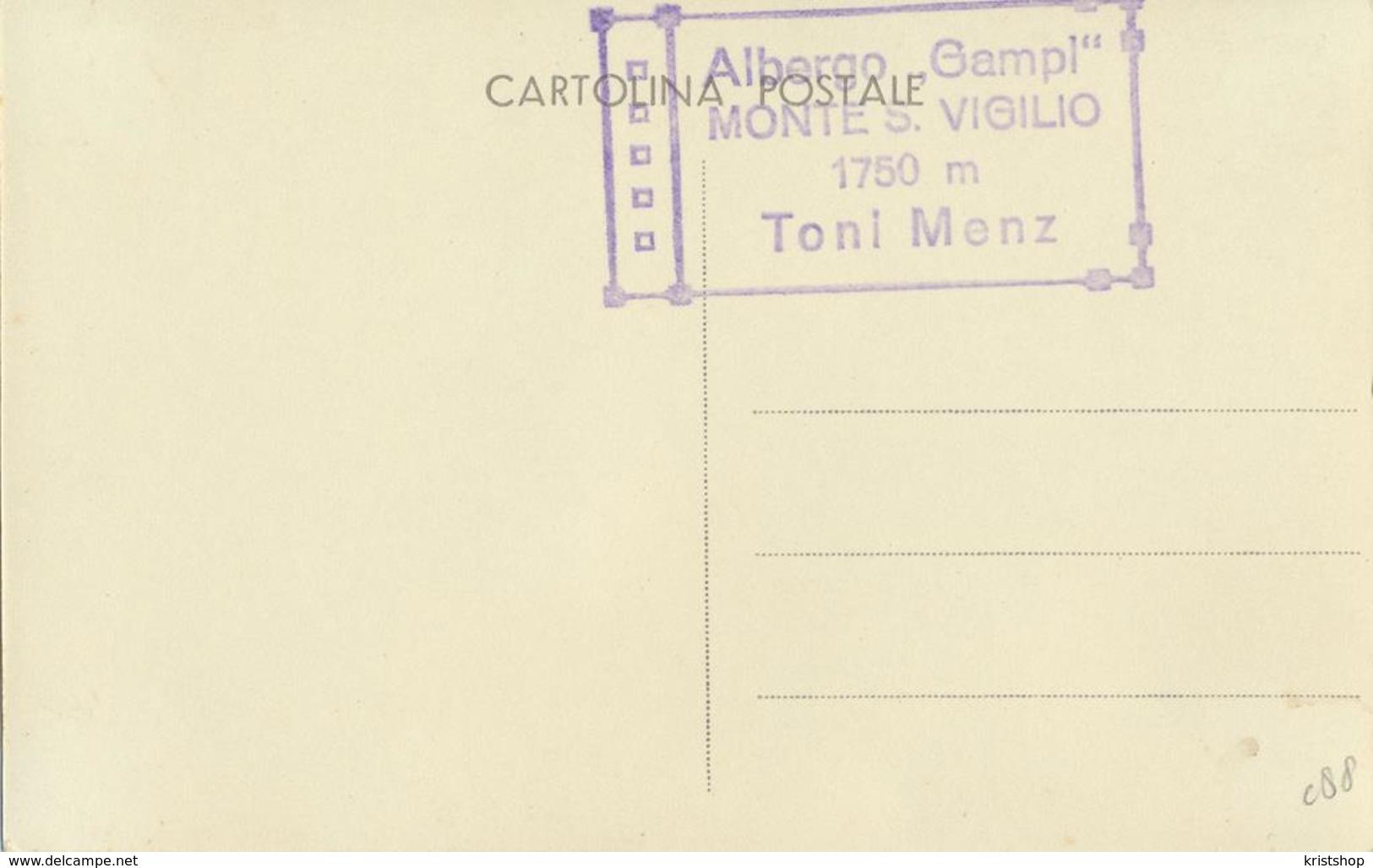 Alberto Gampi - Monte S. Vigilio - Toni Menz [AA20-2.088 - Italie