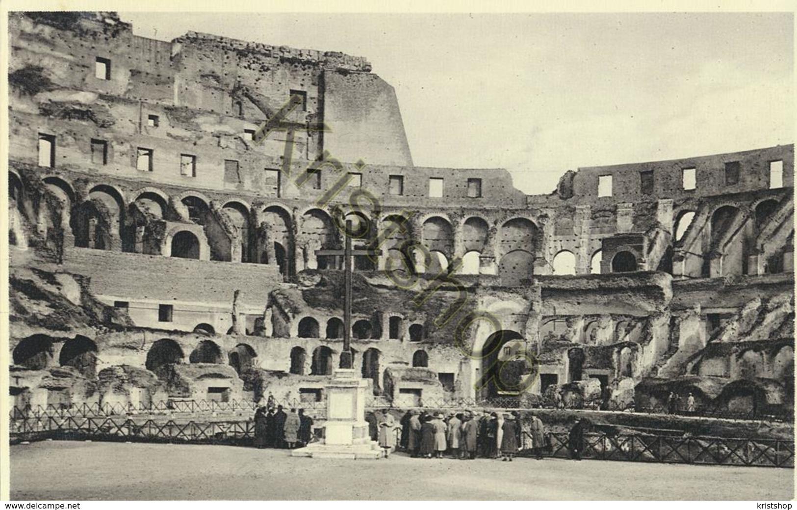 Roma - Colosseo - Interno Con Croce [AA20-2.138 - Italie
