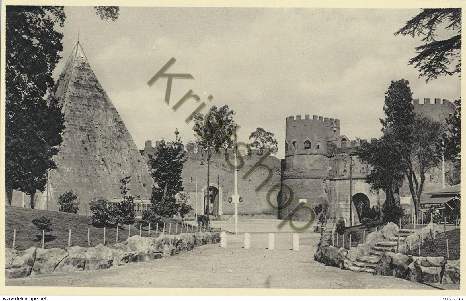 Roma - Piramide Di Caio Cestio E Porta S. Paolo [AA20-2.147 - Non Classés