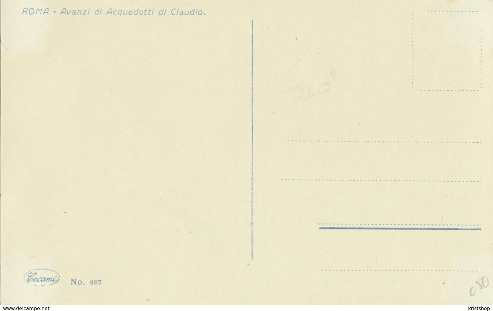 Roma - Avanzi Di Acquedotti Di Claudio [AA20-2.150 - Italie
