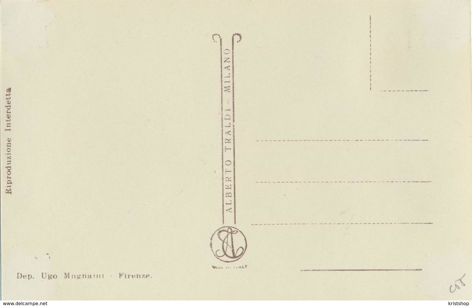 Firenze - Incontro Di Dante E Beatrice [AA20-2.155 - Italie