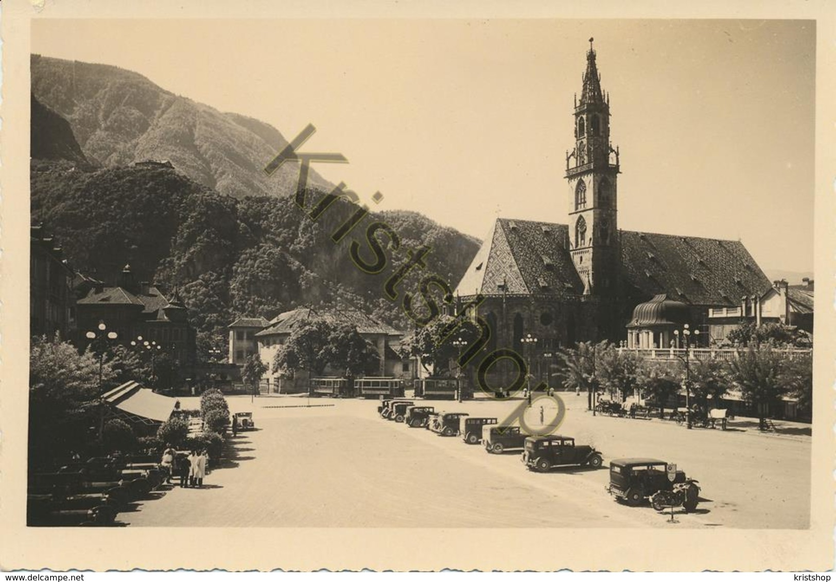Bolzano - Piazza Vittorio Emanule [AA20-2.161 - Italie