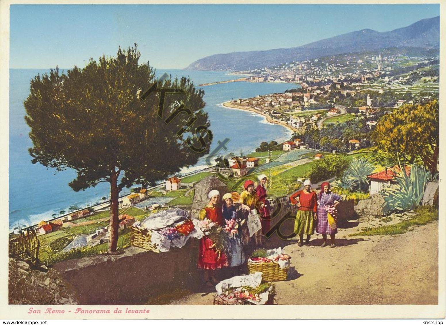 San Remo - Panorama Da Levante [AA20-2.167 - Italie