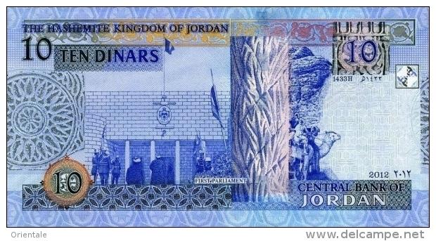 JORDAN P. 36d 10 D 2012 UNC - Jordanie