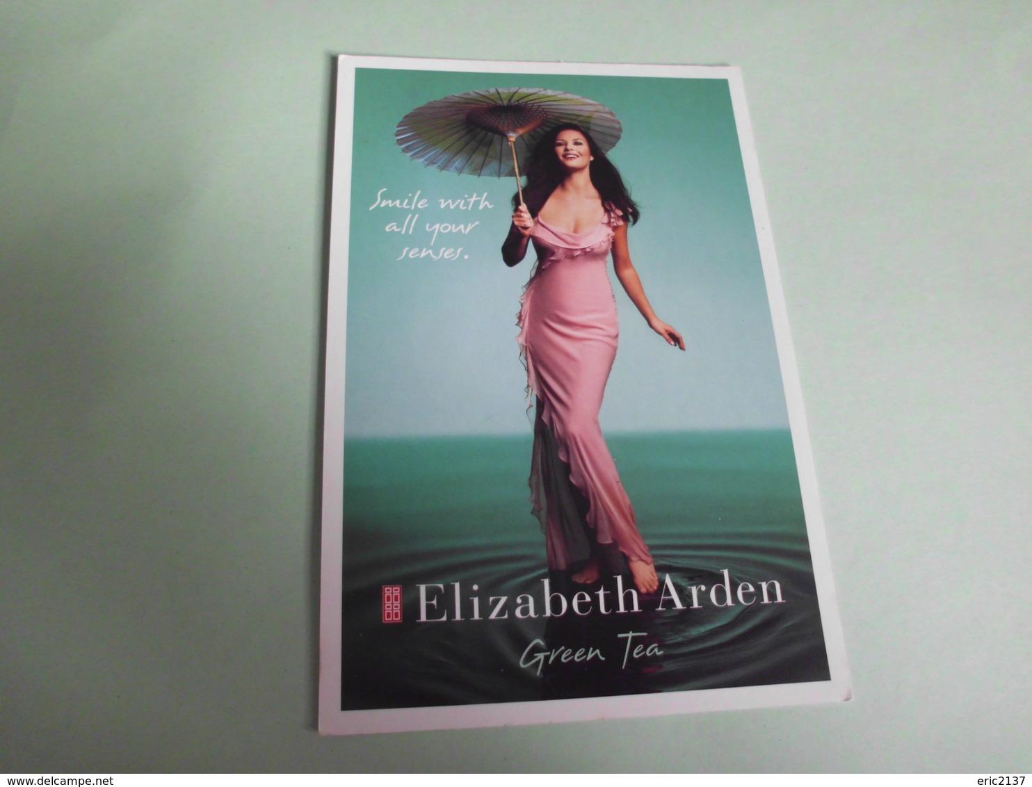 CARTE PUBLICITE ...ELIZABETH ARDEN - Femmes