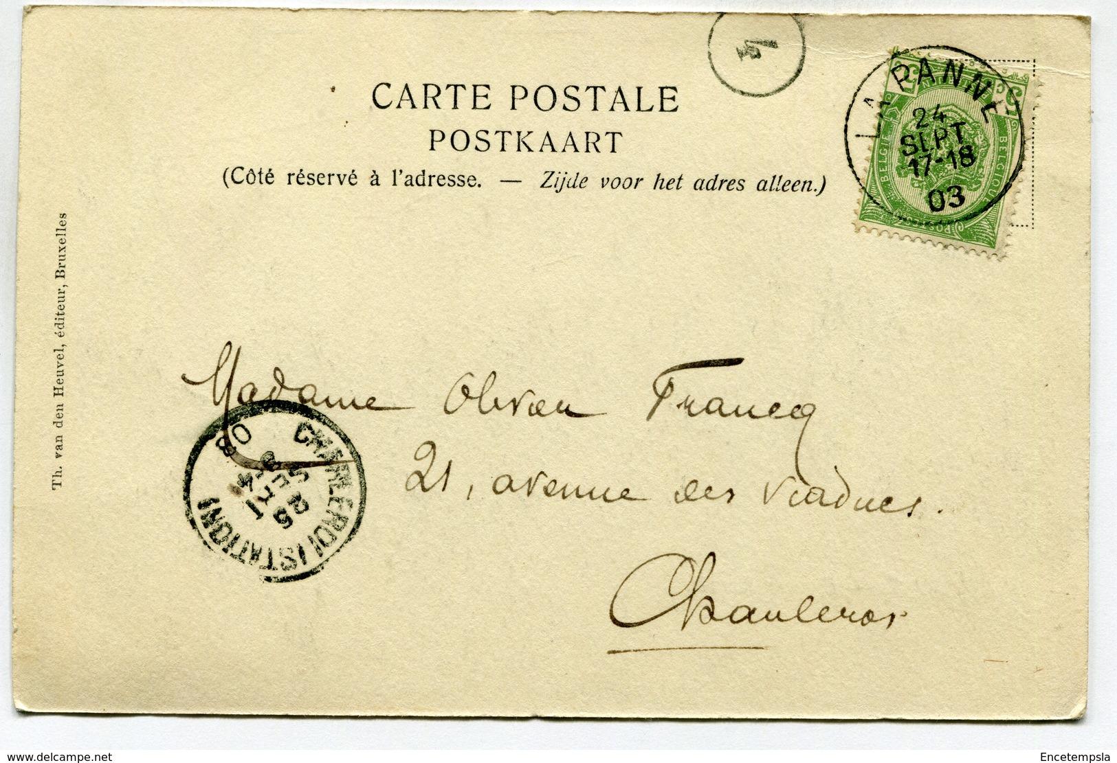 CPA - Carte Postale - Belgique - La Panne - Square Bonzel - 1903 (SV6544) - De Panne