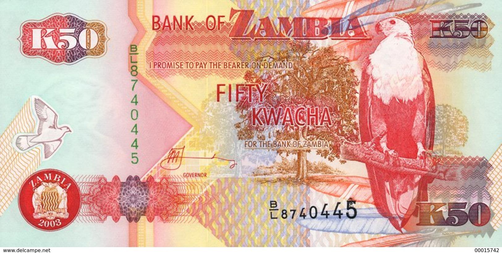 Zambia 50 Kwacha 2003 P-37d - Zambie