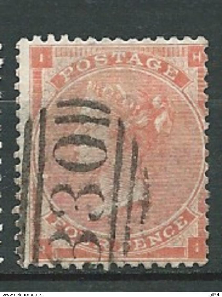 Grande Bretagne  - N° 32 Oblitéré ( Filigrane Grande Jarretière )   Ai26836 - 1840-1901 (Victoria)