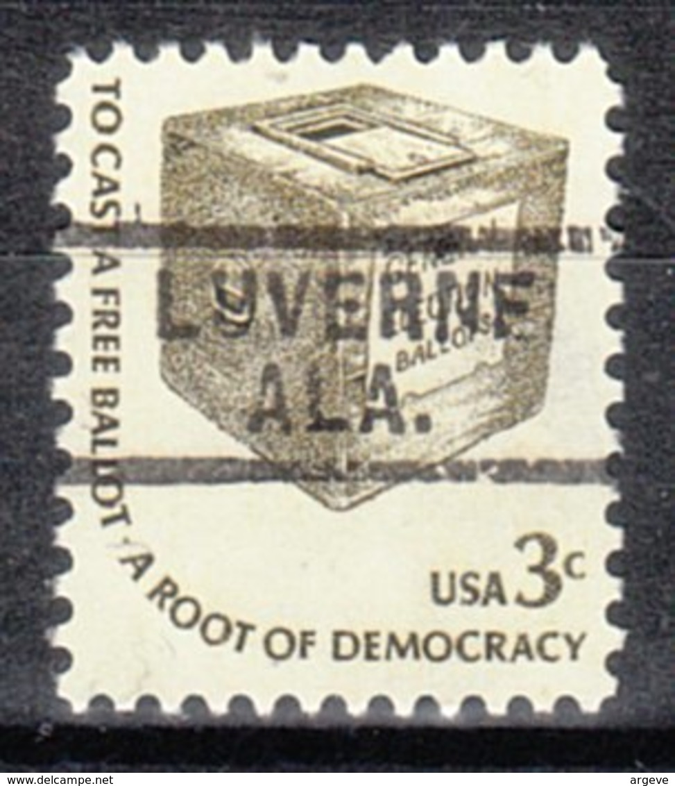 USA Precancel Vorausentwertung Preo, Locals Alabama, Luverne 729 - Etats-Unis