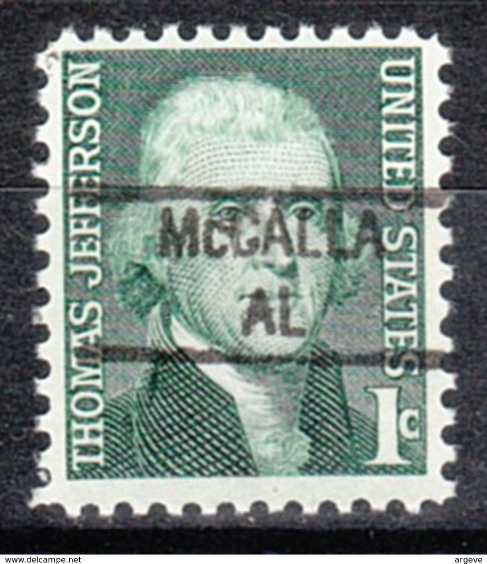 USA Precancel Vorausentwertung Preo, Locals Alabama, McCalla 841 - Etats-Unis