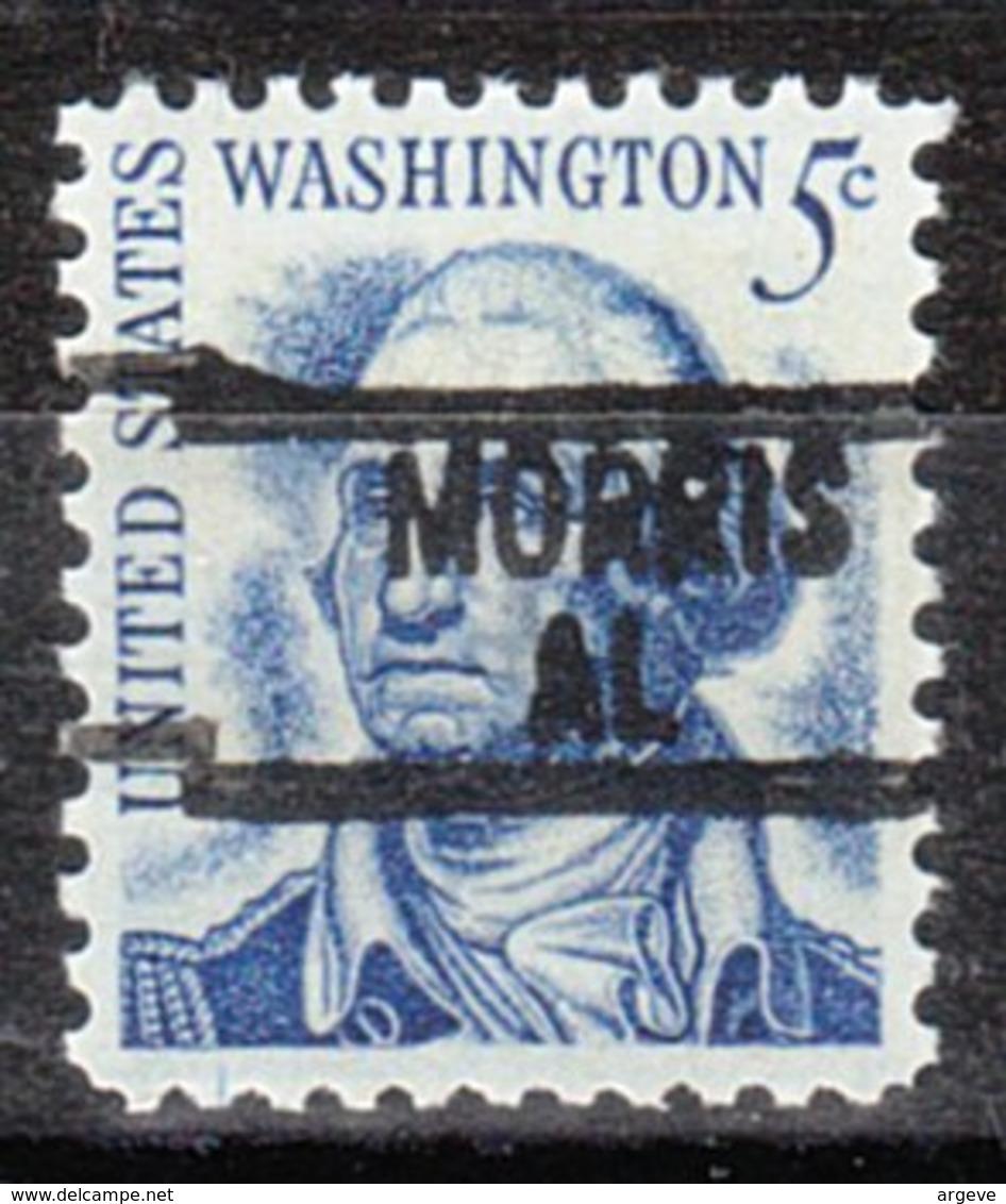 USA Precancel Vorausentwertung Preo, Locals Alabama, Morris 839 - Etats-Unis