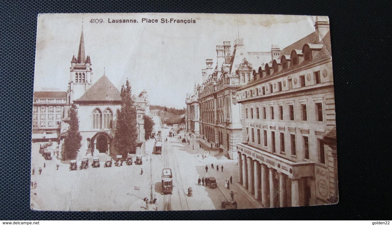 LAUSANNE. Place St-François. - VD Vaud